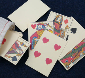 Early Playing Cards in Bag PC-52