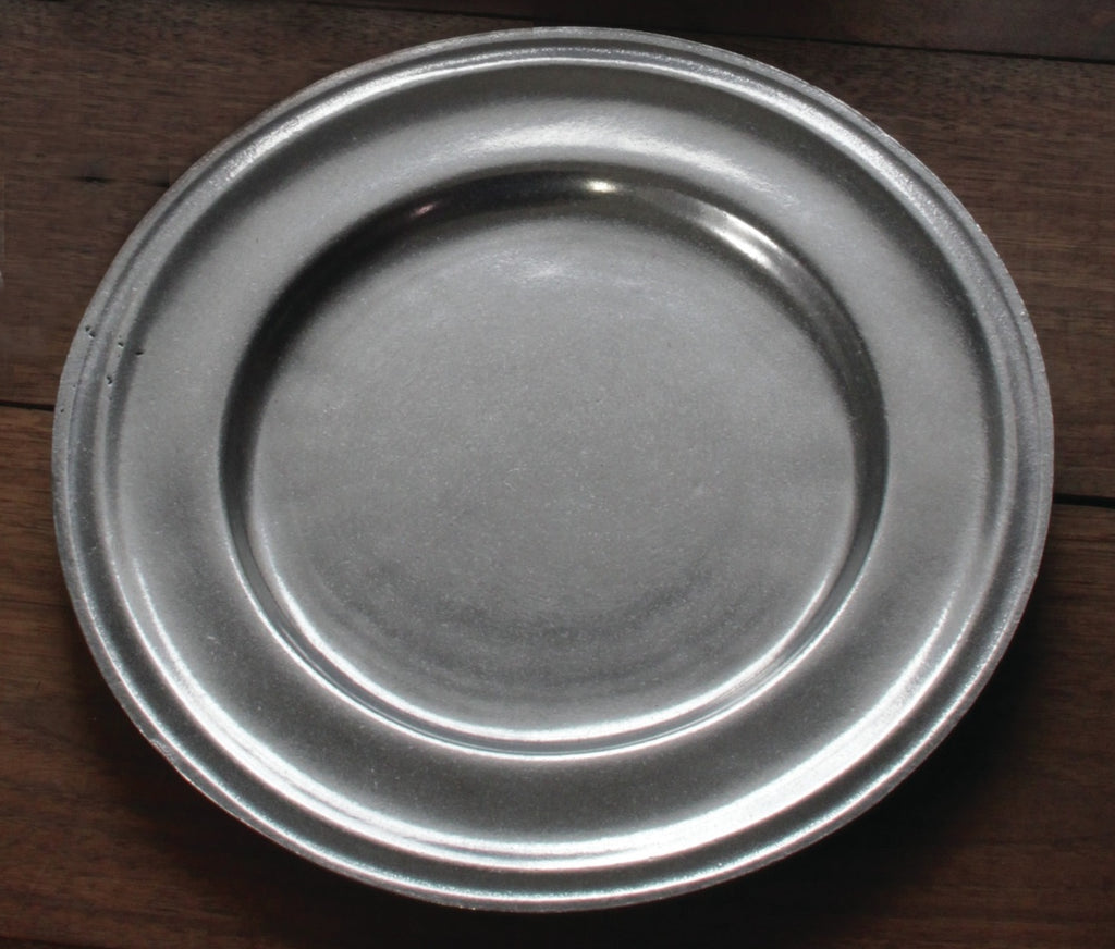 "10"" Pewter Plate   PP-762"