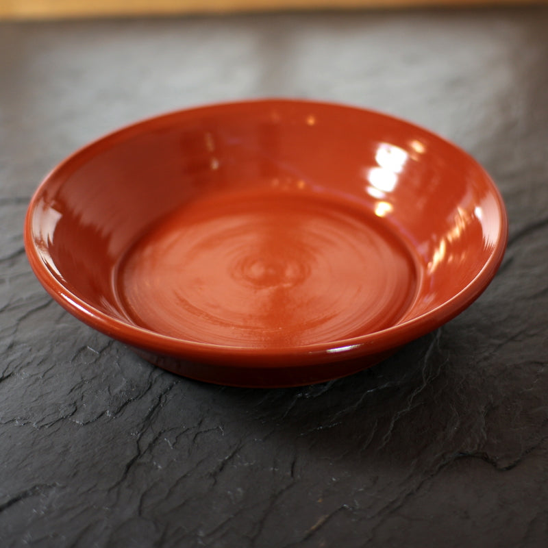 Redware Pie Pan   P-4135