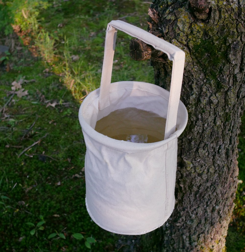 Canvas Water Bucket    S-3046