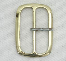 Medium Rectangular Brass Buckle   S-3151