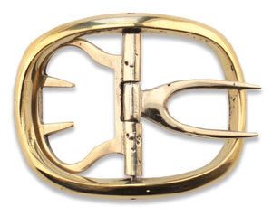 Men's Shoe Buckles  Economy Brass   SB-929