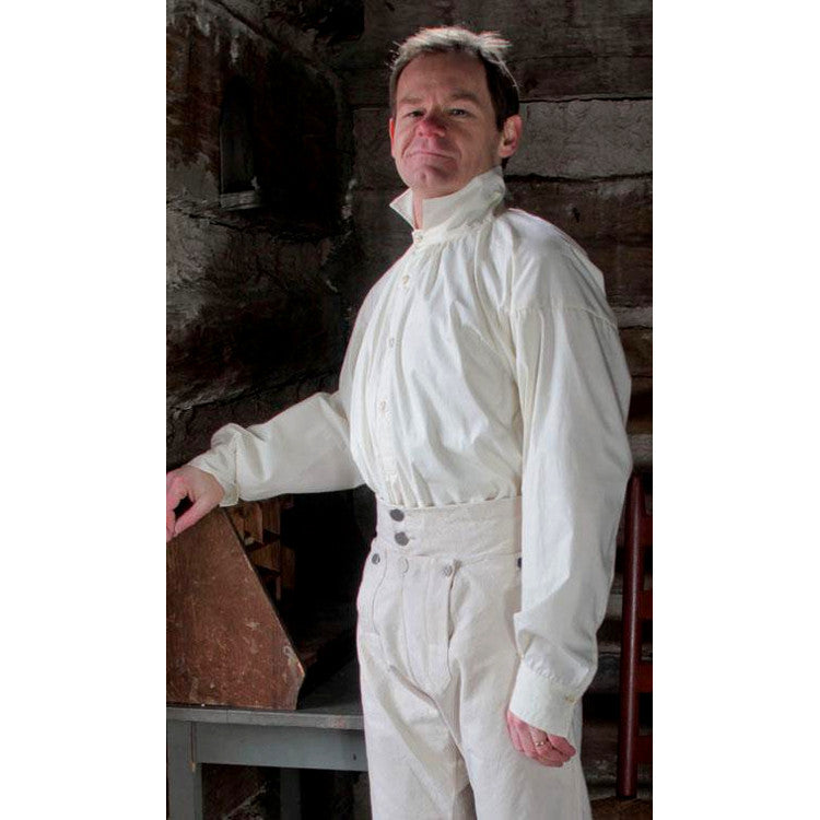 Early 19th Century Empire Shirt in Linen