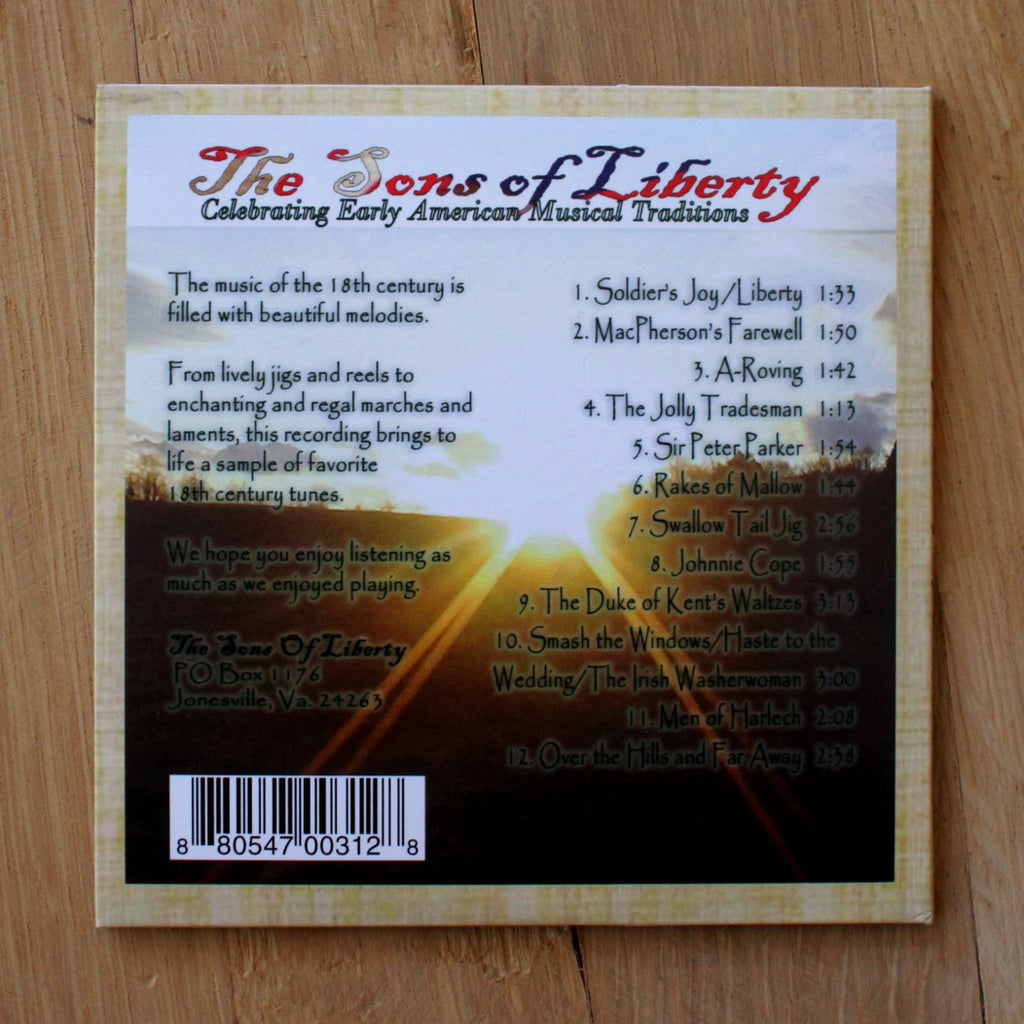 The Sons Of Liberty CD M-3625