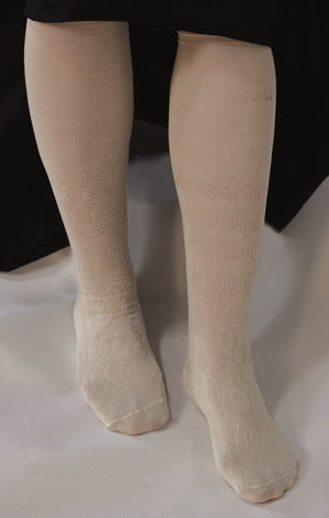 Openwork Silk Stocking SP-745