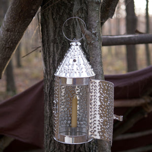 Medium Pierced Tin Lanterns   TL-14