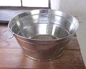 Tin Wash Tub - TW-723
