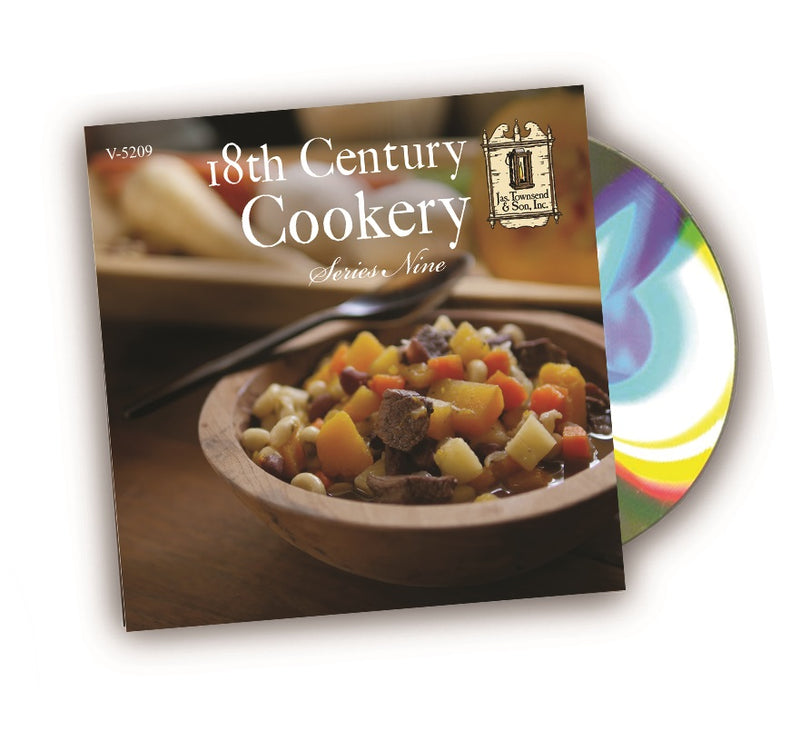 18th Century Cookery DVD Series 9
