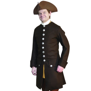 1750-1760 Wool Civilian Coat WC-149