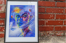 Load image into Gallery viewer, Image shows limited edition print art by Isabelle Ewing
