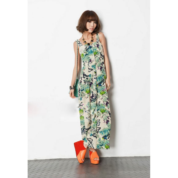 SP211665 - Stylish Flora Jumpsuit