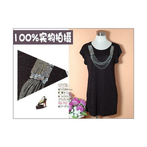 SD26626 - Korea Fashion Chain Dress
