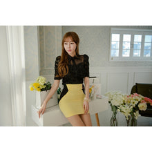 Load image into Gallery viewer, ST72305 - Korea Fashion Lace Top