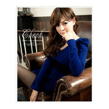 Load image into Gallery viewer, SD79535 - Korea Fashion Long Sleeve Dress