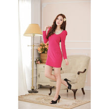 Load image into Gallery viewer, SD62391 - Sweet Long Sleeve Dress