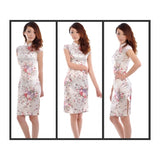 SC0863 - Fashion Silk Cheongsam