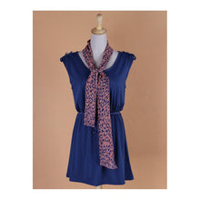 Load image into Gallery viewer, SD212798 - Stylish Summer Dress (With Scarf & Belt)