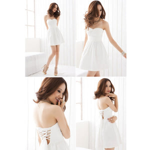 SD212781 - Stylish Tube Dinner Dress