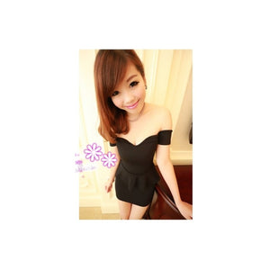 SD90669 - Sexy Peplum Dress