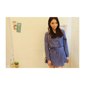 ST98825 - Korea Fashion Denim Top