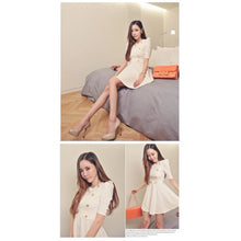 Load image into Gallery viewer, SD99902 - Fashion Puff Sleeve Dress