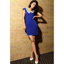Load image into Gallery viewer, SD98645 - Stylish V Neck Dress