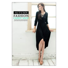 Load image into Gallery viewer, SD212992 - Korea Fashion Long Dress