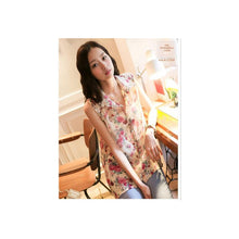Load image into Gallery viewer, ST76802 - Sweet Flora Chiffon Top
