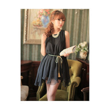 Load image into Gallery viewer, SD213187 - Korea Sweet Chiffon Dress