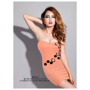 SD213113 - Sexy Tube Dress