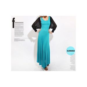 SD99060 - Sexy U Back Maxi Dress