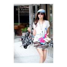 Load image into Gallery viewer, SD985001 - Stylish Butterfly Print Dress
