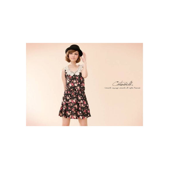SD98051 - Sweet Fashion Sleeveless Dress