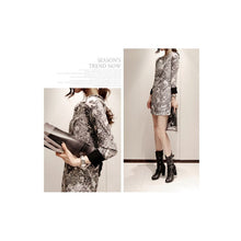 Load image into Gallery viewer, SD91008 - Korea Stylish Long Sleeve Dress