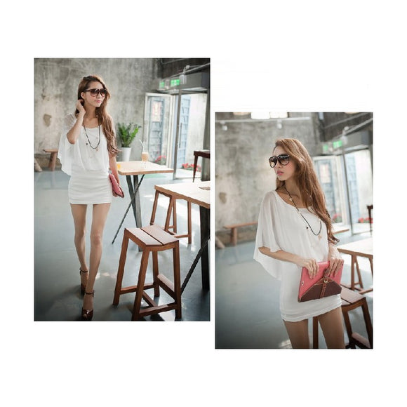 SD213506 - Korea Stylish One Piece Dress