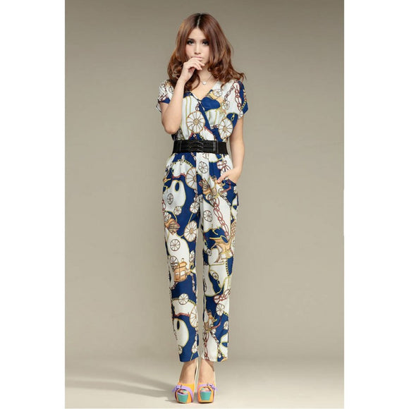 SP213271 - Korea Fashion Jumpsuit (With Belt)