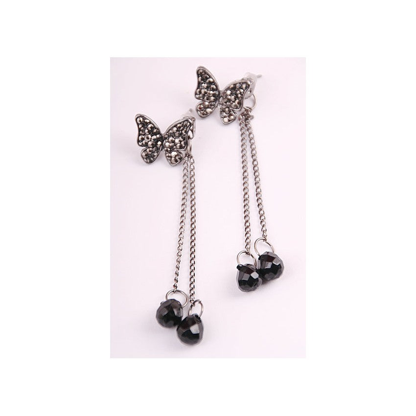 SE70638 - Korea Butterfly Earrings