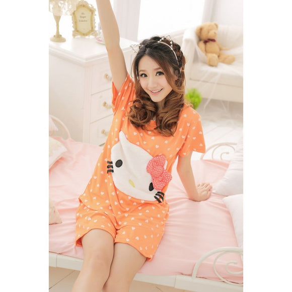SL610750 - Cute Hello Kitty Pyjamas (1 Set)