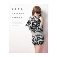 Load image into Gallery viewer, ST95080 - Korea Stylish Flora Set (Jacket & Pant)
