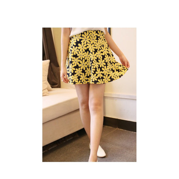 SK76172 - Stylish Flower Skirt