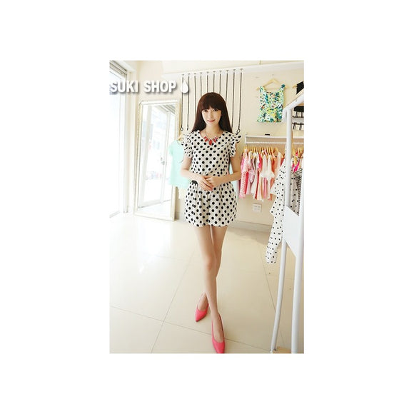 SK79207 - Korea Trendy Top & Skirt (1 Set)
