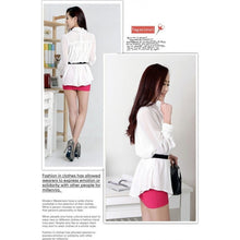 Load image into Gallery viewer, ST71033 - Korea Trendy OL Top (With Belt)