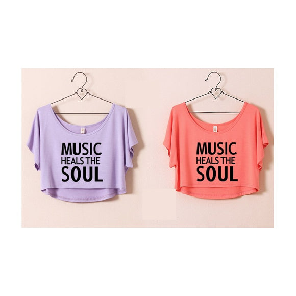 ST63460-5 - Stylish Summer Top (MUSIC HEALS THE SOUL)