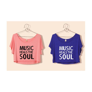 ST63460-6 - Stylish Summer Top (MUSIC HEALS THE SOUL)