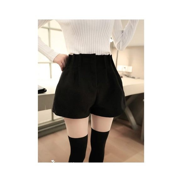 SP78206 - Korea Stylish Woolen Pant