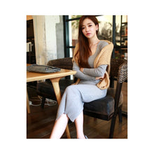 Load image into Gallery viewer, SD74589 - Korea Fashion Knit Dress