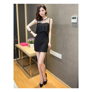 SD216931 - Stylish Ruffles Dress