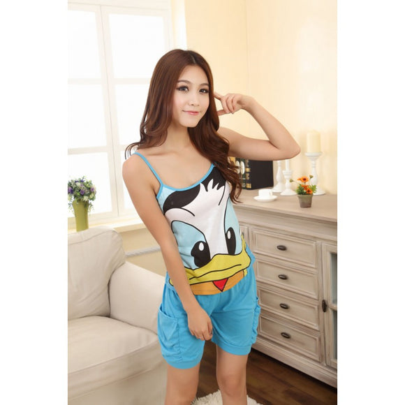 SL6166 - Cute Donald Duck Pyjamas (1 Set)