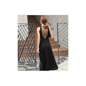 SD95105 - Sexy V Back Maxi Dress