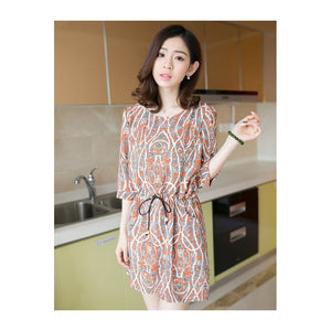 SD217570 - Stylish Chiffon Dress